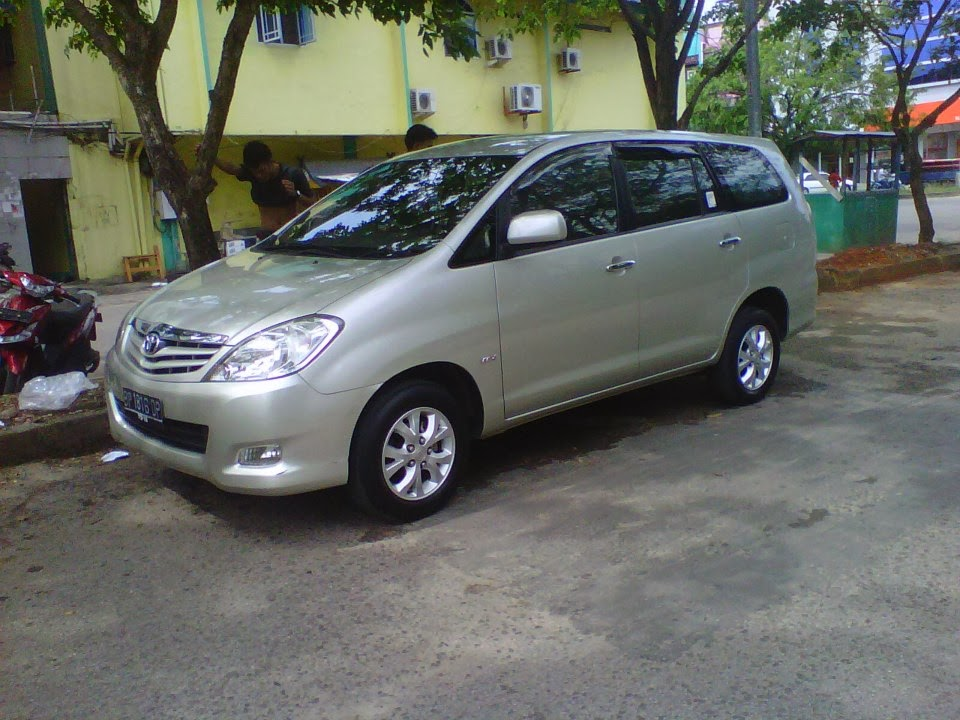 7 Seater Vehicle MPV Toyota Kijang Innova